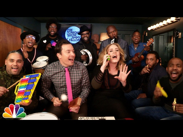 Jimmy Fallon, Adele The Roots Sing