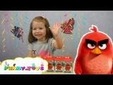 ANGRY BIRDS Sweet Box Энгри Бердз в кино СВИТ БОКС открываем СЮРПРИЗЫ