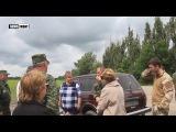 Казачий полк «ЯрГа» и жители Дьяково почтили память защитников ЛНР