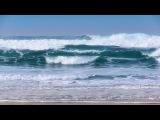 Breaking Waves - 1 Hour of Beautiful Pacific Ocean Waves in HD