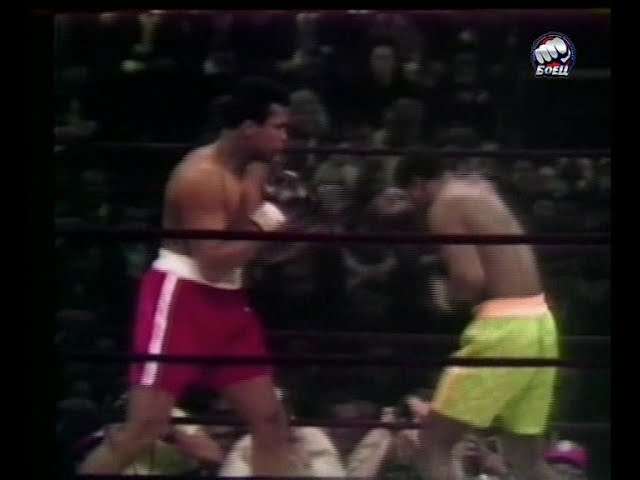 Обзор боя Мухаммед Али-Джо Фрейзер 1 /Muhammad Ali vs Joe Frazier highlights