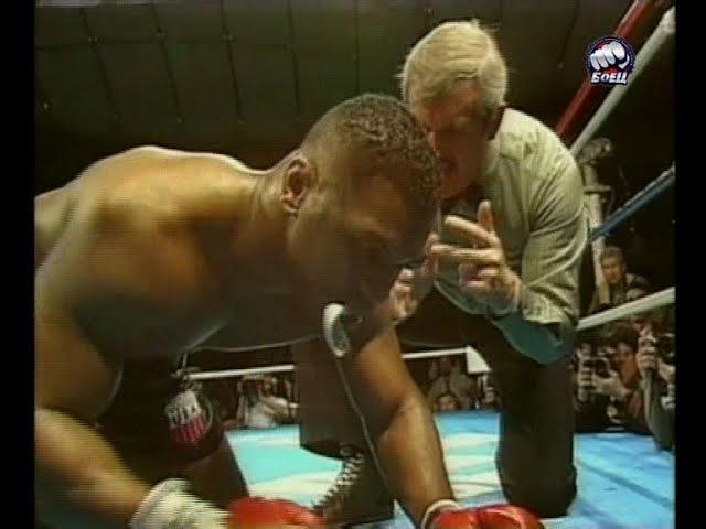 Майк Тайсон-Джеймс Бастер Даглас/James Buster Douglas vs Mike Tyson highlights