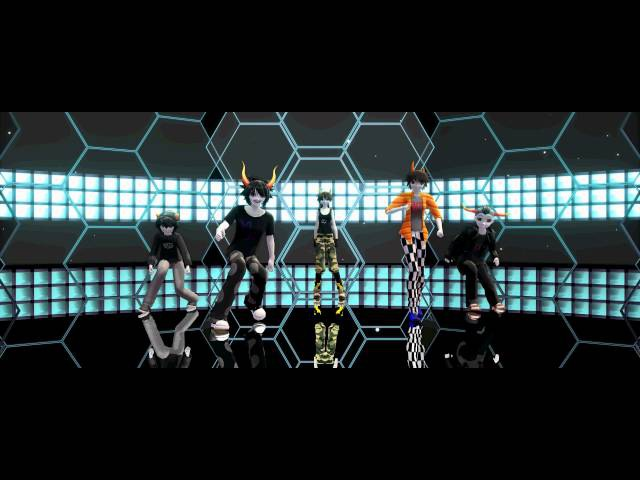 【MMD x Houmstak】Welcome to the club