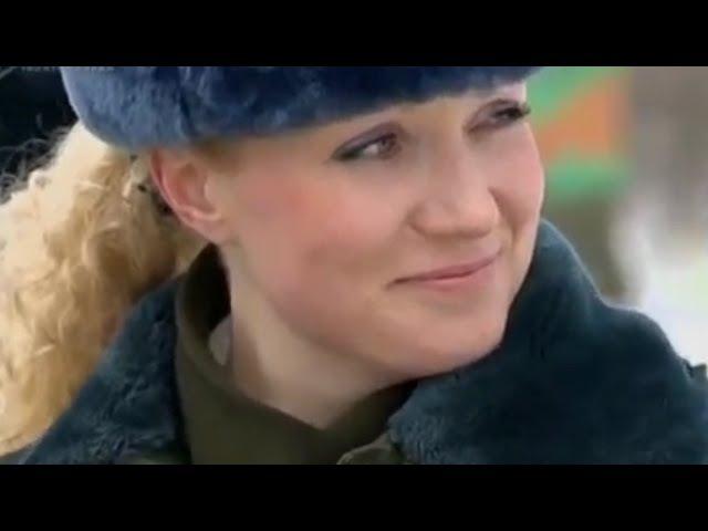Десантницы. Девушки в армии Беларуси. Пора служить - поёт Юлия Абрамович-Терешко.
