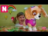 Игрушки Собачка Скай Щенячий патруль Мультфильм Распаковка Toys Sky Paw Patrol