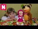 Masha and Bear Toy Review Маша и Медведь музыкальные  игрушки2