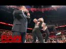 Randy Orton invades Raw to attack Brock Lesnar Raw, Aug. 1, 2016