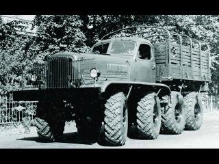 Военные грузовики ЗИС-Э134 макет №1 обзор, характеристики. Редкие грузовые автомобили