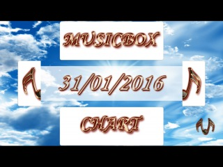 MUSICBOX CHART TOP 40 (31/01/2016) - Russian United Chart