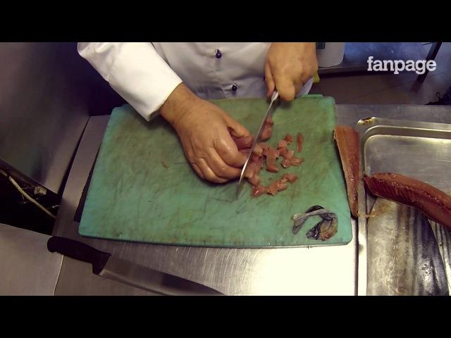 La Cucina dellAvvocato - Spaghetti con palamita, pomodorini e colatura di alici