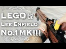 LEGO Lee-Enfield No.1 MKIII (SMLE) With Bayonet Scope!