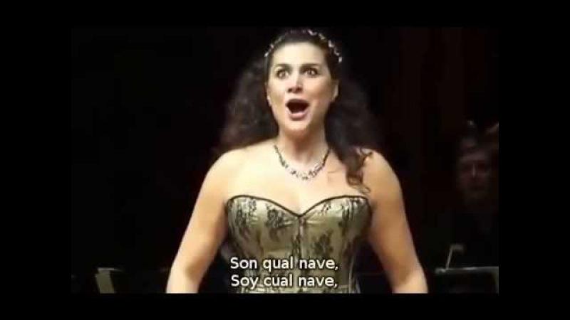 Cecilia Bartoli - Son qual nave ch´agitata de Artaserse de Broschi (sub. español e italiano)