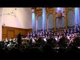 Глаголическая Месса Леош Яначек Камерный хор Московской Консерватории