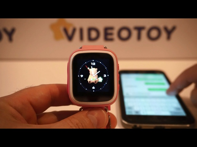 Детские часы с GPS трекером Smart Baby Watch Q60S - купить детские часы с GPS слежением 0