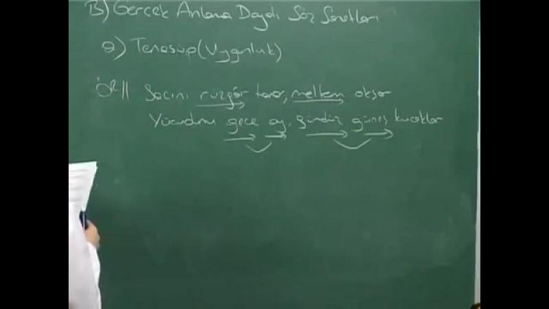 Edebiyat Ders 3 (ÖSS)- Edebi Sanatlar