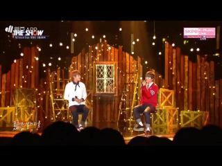 160906 sunyoul & hwanhee - love in the milky way cafe (special stage) @ the show