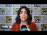 'Agents Of S.H.I.E.L.D.'s' Chloe Bennet Previews Season 4 & Ghost Rider русские субтитры