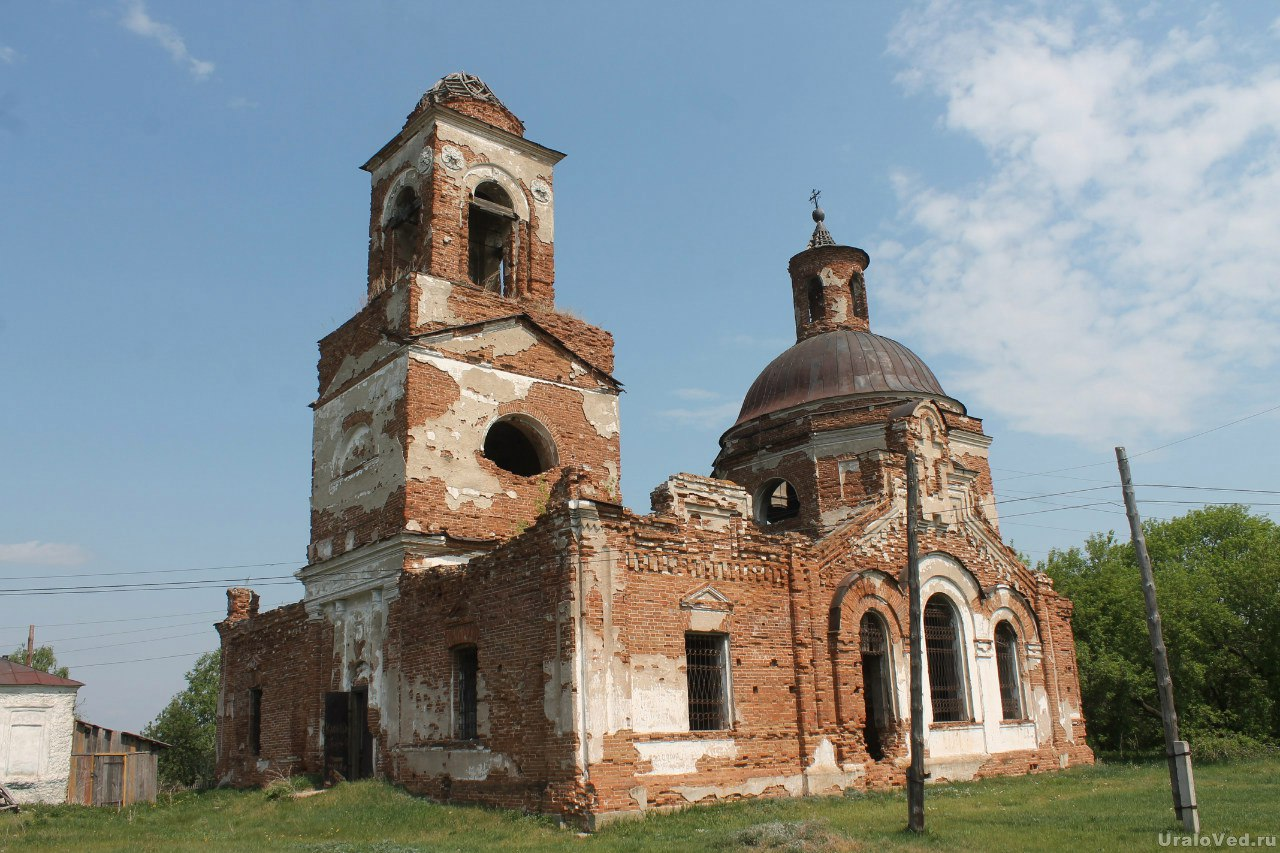 Введенская церковь в Никитском