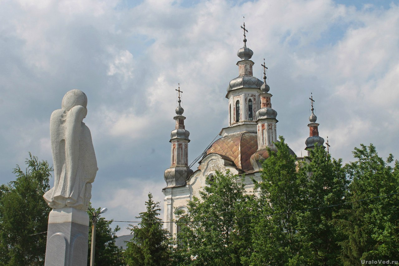 Спасо-Преображенский собор Шадринска (1771-77 гг.)