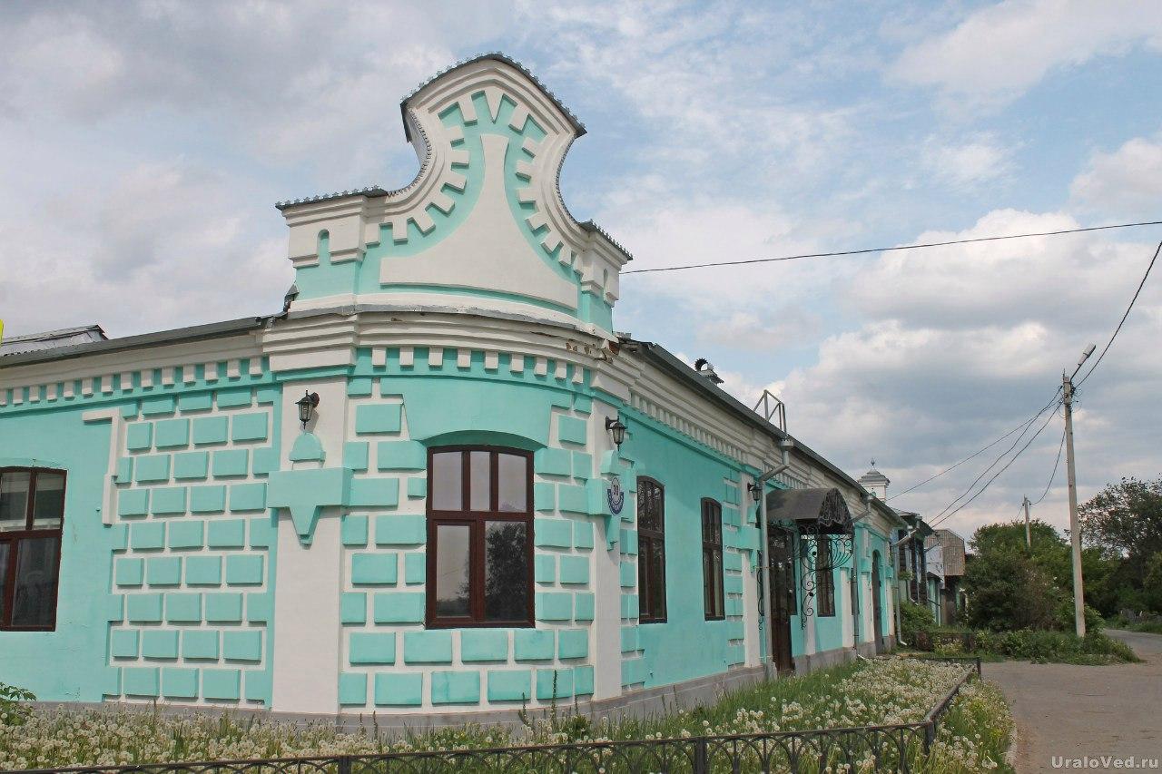 Шадринск. Рыбные склады И.М. Курдюкова