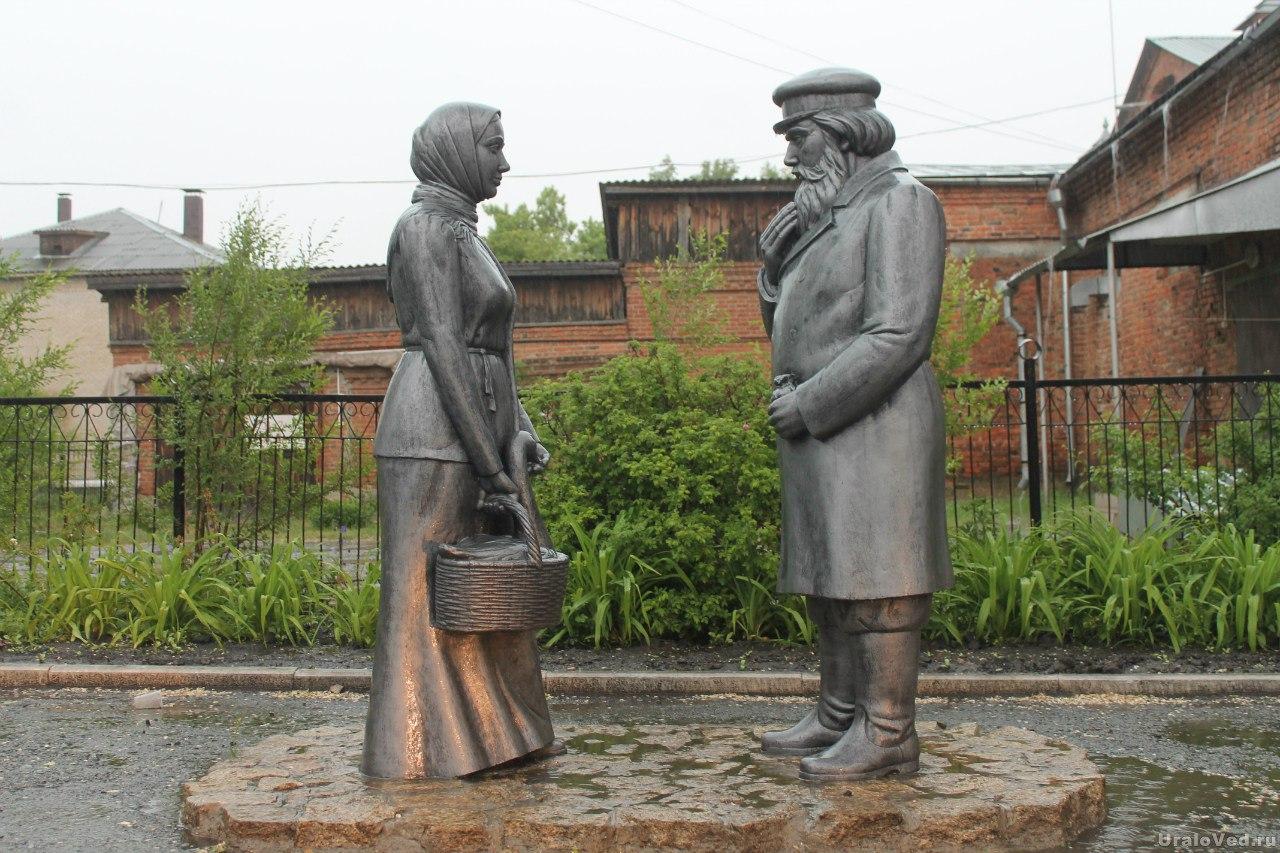 Шадринск. Старый город