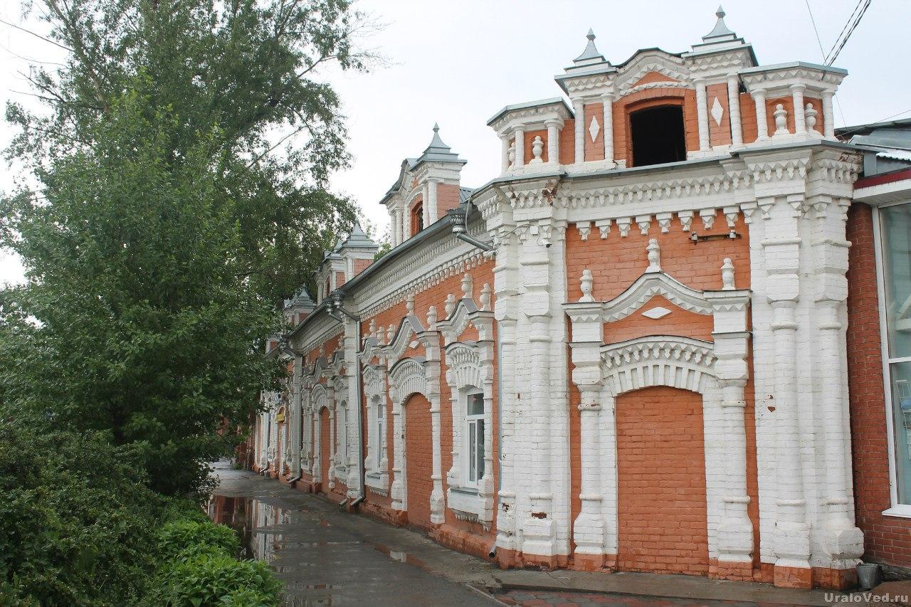 Шадринск. Склады Мыльникова