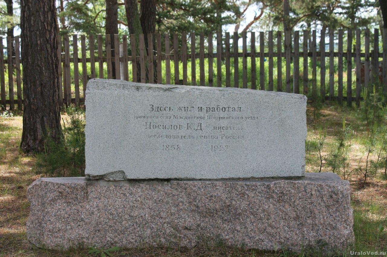 Памятник Носилову