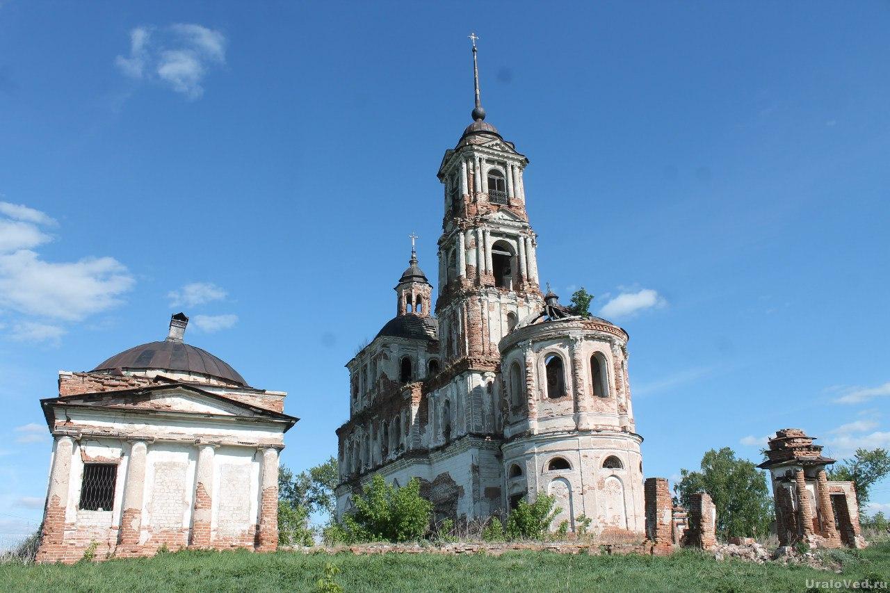 Покровская церковь в селе Першинское
