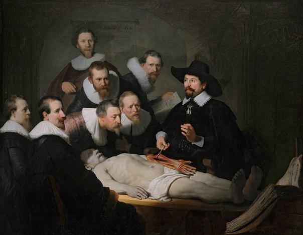 Рембрандт, Урок анатомии