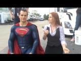 Супермен принял холодный душ ради благотворительности