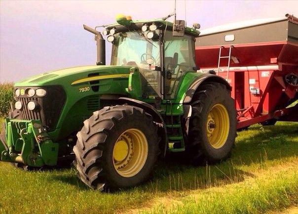 Канадский фермер собрал беспилотный трактор