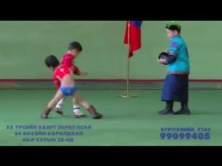 Монгольский борец монгольские дети