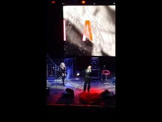 Аслан Ахмадов на концерте Ирины Билык