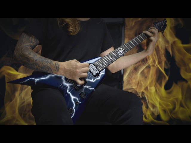 Pantera - Cowboys From Hell Solo Cover (Ola Englund)