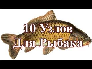 Узлы. 10 узлов самых необходимых для рыбалки. Рыбацкие узлы. Fishing knots