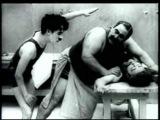 Charlie Chaplin gets a Massage
