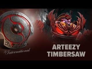 Arteezy (Timbersaw) - TEAM SECRET vs. _POWERRANGERS @ The International 2016