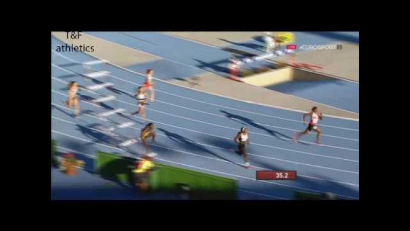 400m Hurdles Women's Semi-Final 2 - World Junior Championships Bydgoszcz 2016
