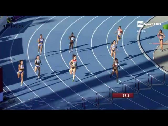 400m Hurdles Women's Semi-Final 1 - World Junior Championships Bydgoszcz 2016