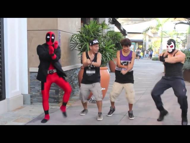 Еще одна пародия на Psy - Oppa Gangnam Style