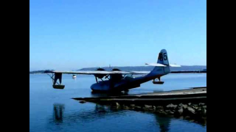 PBY-6A Amphibious Take-off (Part 22)