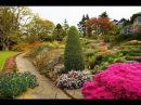 Ландшафтный дизайн. Альпийские горки, рокарии в саду.Rockeries in the garden