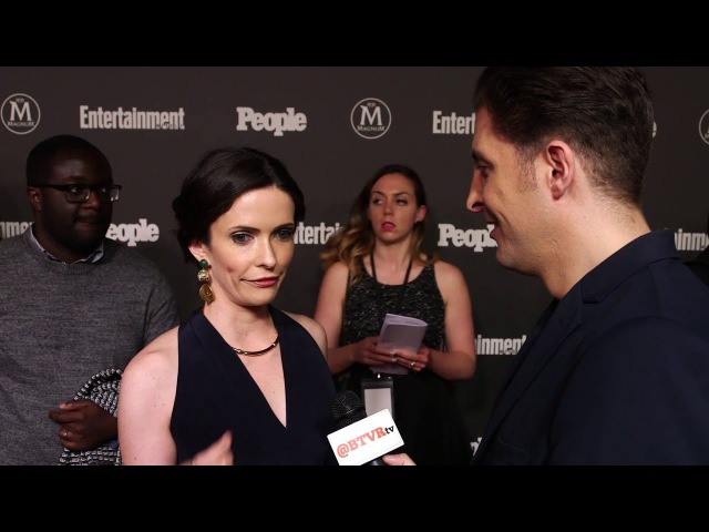 Bitsie Tulloch at the EW and People Upfront with Arthur Kade