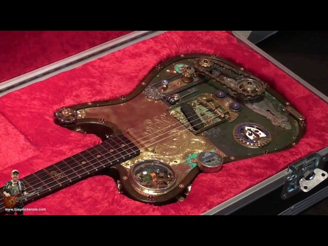 Fender Steampunk custom shop Telecaster close up 24000 Euros! : tonymckenzie.com
