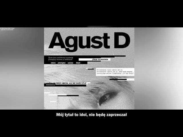 [POLSKIE NAPISY] Agust D - The Last (마지막)