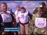 Экстремальный забег  Горячие головы в Новгородском районе за деревней Ращеп