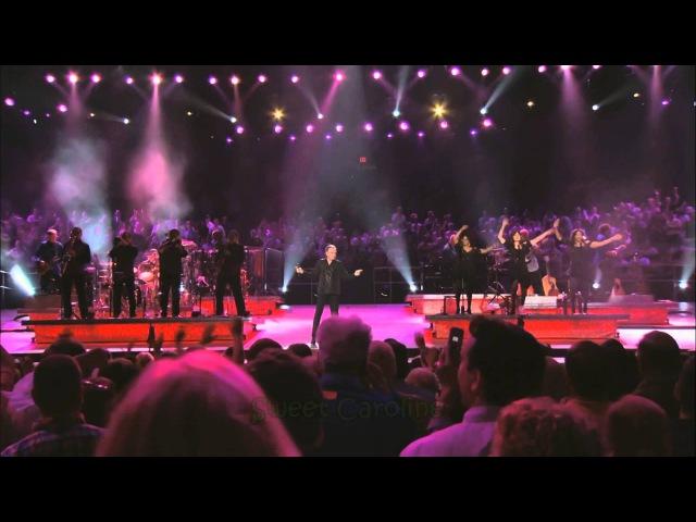 Neil Diamond - Sweet Caroline (2008, with lyrics)