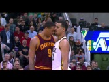Channing Frye and Trey Lyles get into a bit of biffo after an errant elbow_ NBA 2015-16 Season