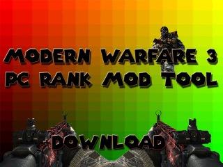 Modern Warfare 3 Rank Hack | PC | 2015/2016 | TeknoGods & STEAM | +Download