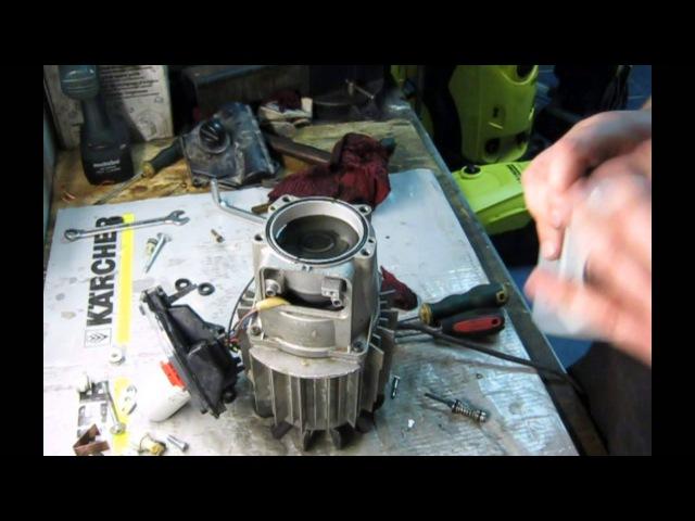 Karcher k5.20 чистка манометрического клапана